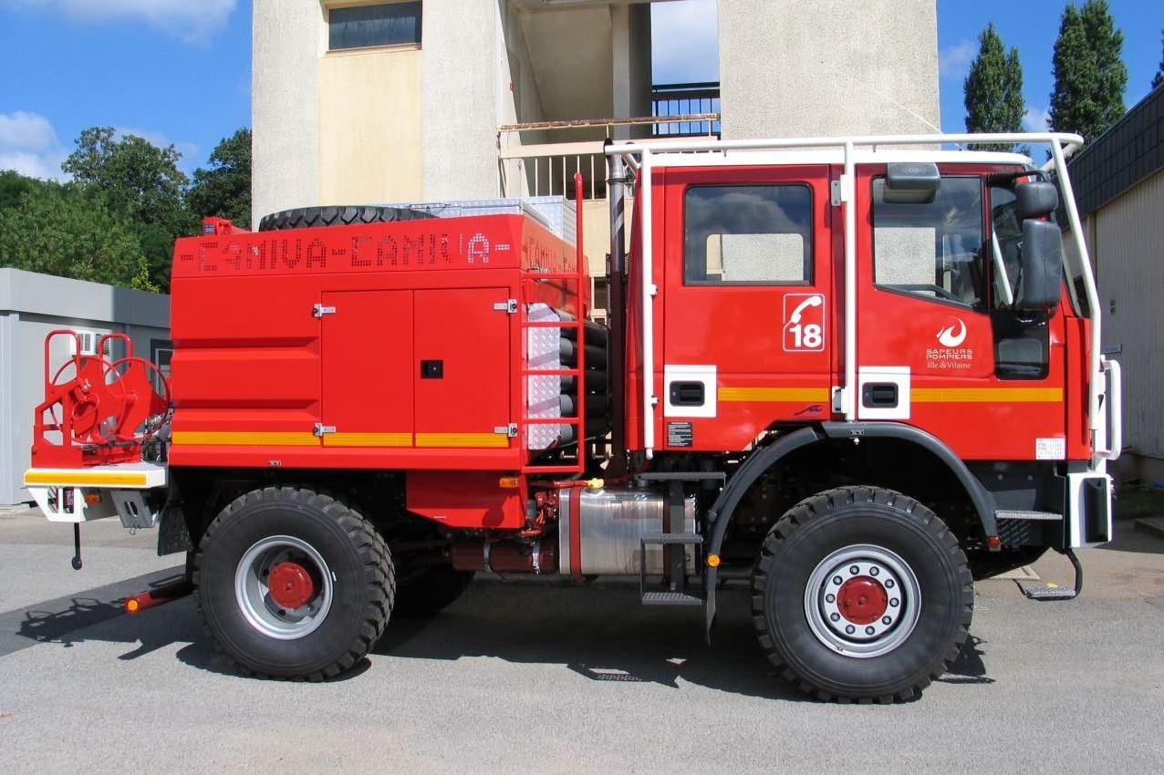 Camion Citerne Forestier - CCF (pour les feux d'espaces naturels)