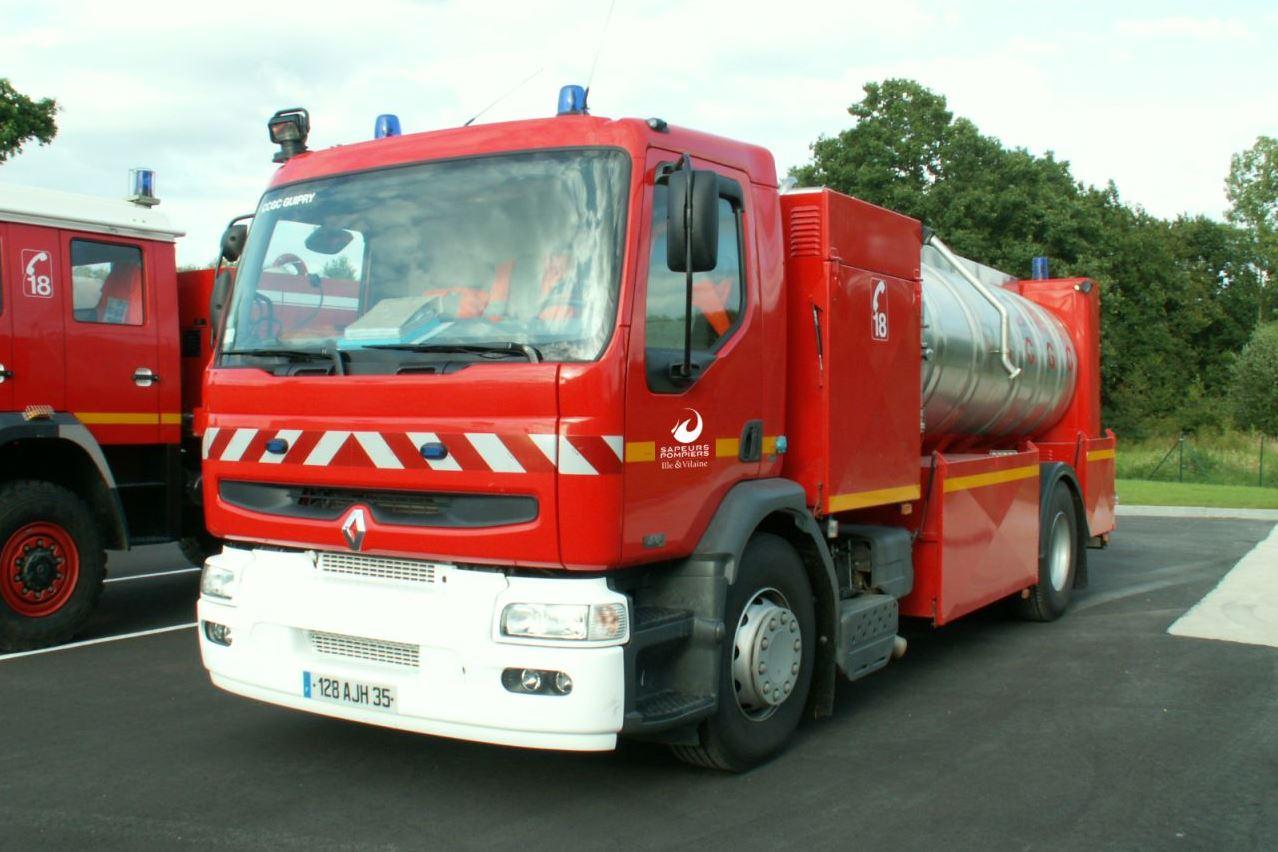 Camion Citerne Grande Capacité - CCGC (pour l'alimentation en eau sur des sinistres (+ CCGC-LC) )