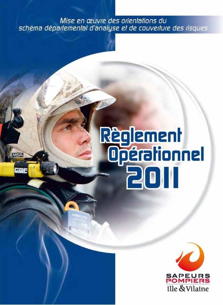 Couverture Règlement opérationnel