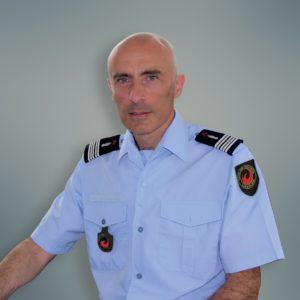 Colonel Eric Candas, Directeur départemental