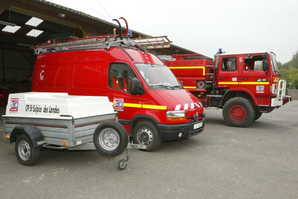 Moyens matériels CIS Saint-Sulpice-des-Landes