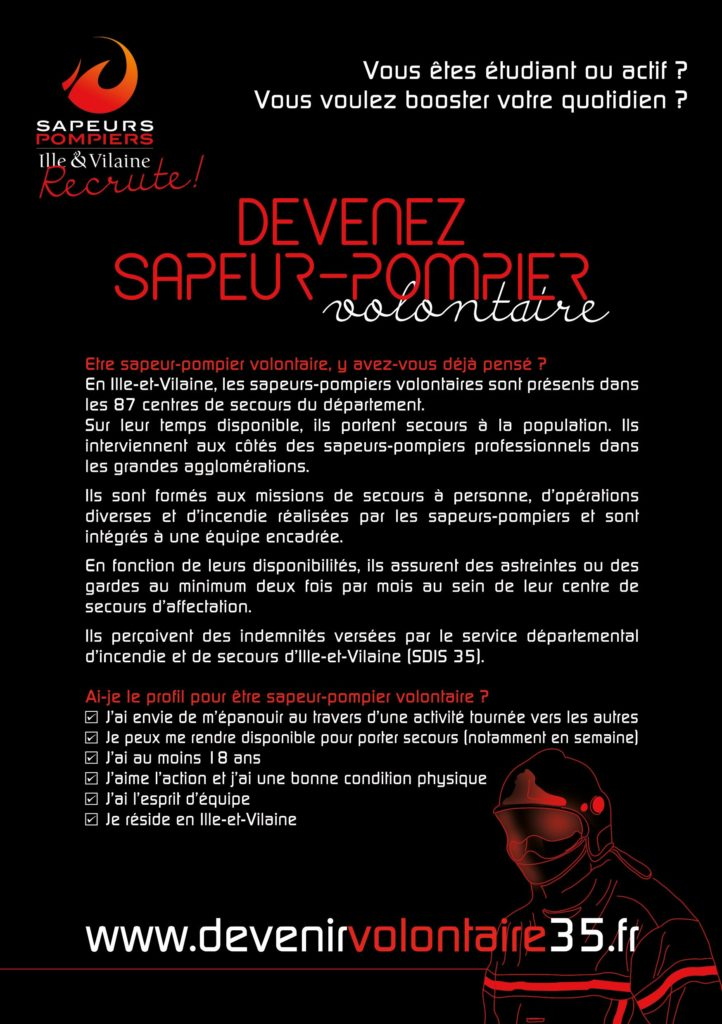 Flyer recrutement SPV verso