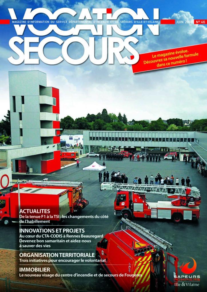 Couverture Vocation Secours n° 46 - Juin 2018