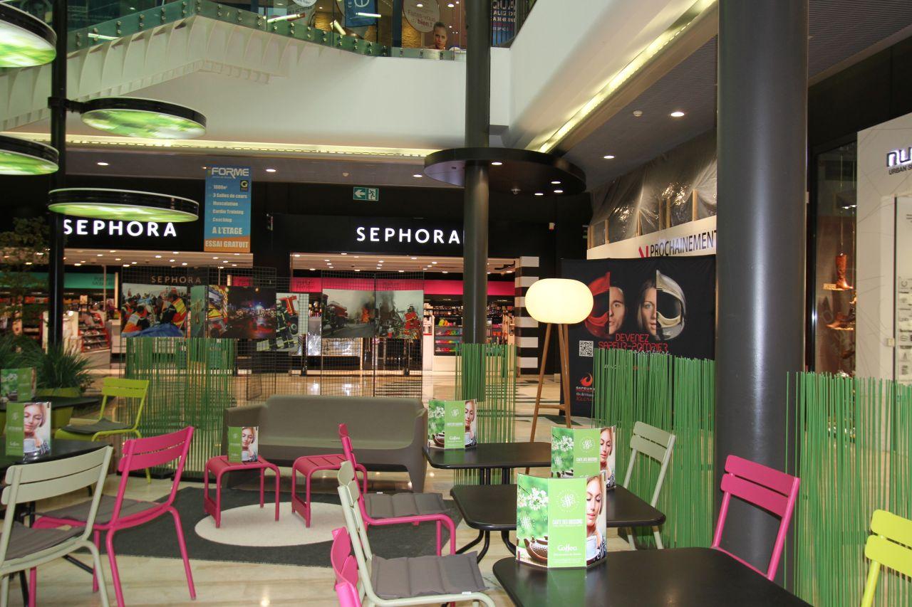 Rencontre centre commercial
