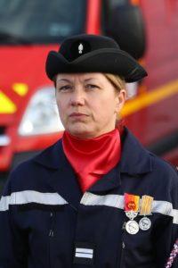 Prise de commandement de la lieutenante Françoise Bertin à Pipriac le 24 mai 2019